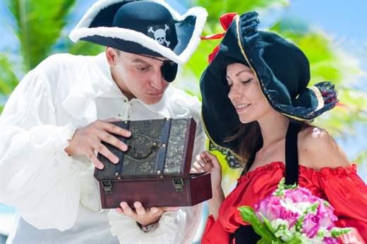 Поздравление пираты на свадьбу 6
