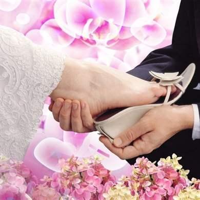 Про туфельки невесты стих