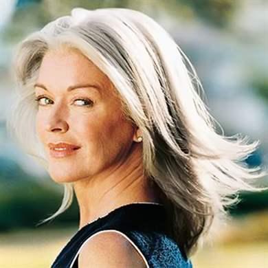 Прически с длинными волосами в возрасте фото