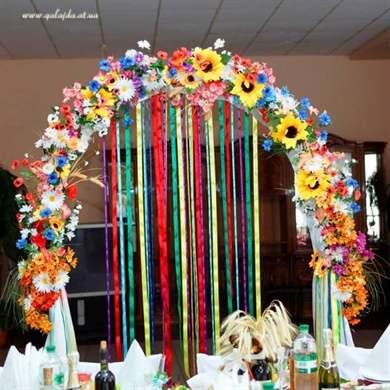 Как украсить арку в детском саду своими руками 3