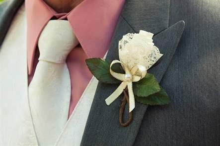 Украшение для жениха своими руками