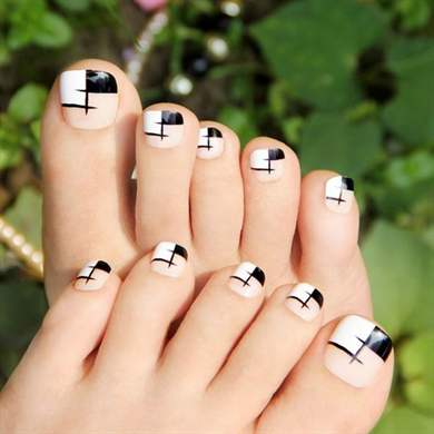 Дизайн ногтей на ногах фото новинки