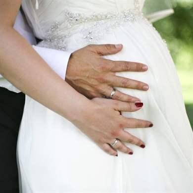 Свадьбы беременных фото