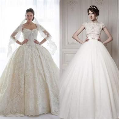 Пышное свадебные платья для беременных 49