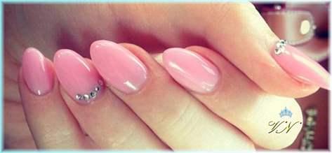 Ногти миндалевидной формы как сделать
