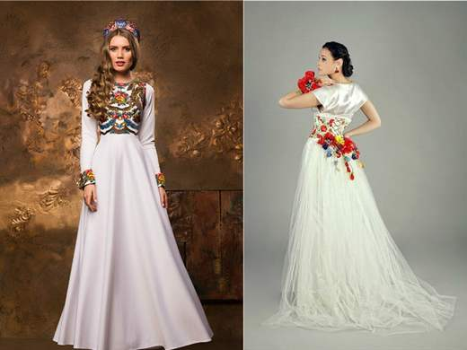 Свадебные русские народные платья купить