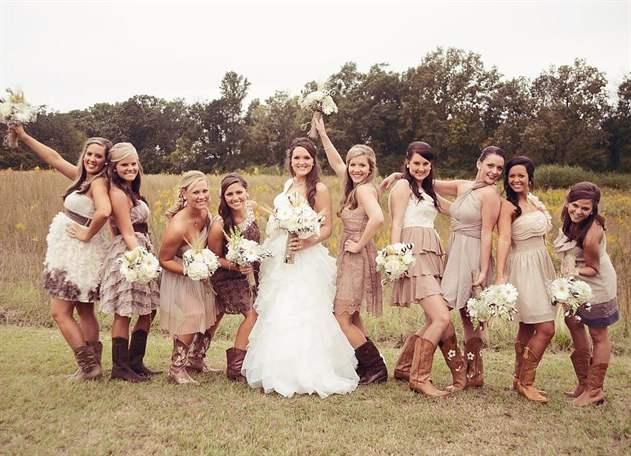 Country life wedding