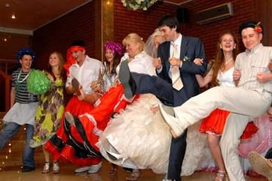 Описание всех конкурсов на свадьбу