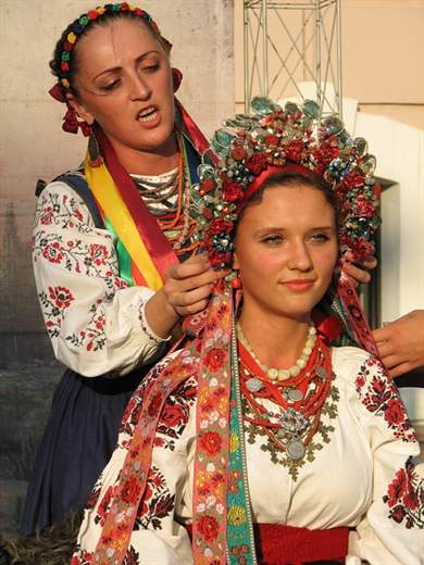 Свадьба в украинском стиле: организация и сценарий праздника