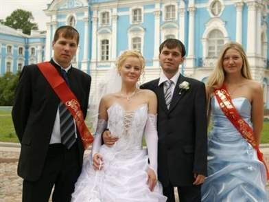 Свидетели на свадьбу могут быть женаты