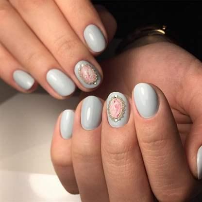 Шеллак на короткие ногти - фото, идеи дизайна маникюра
