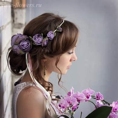 Венок для невесты своими руками: мастер-класс с фото и видео