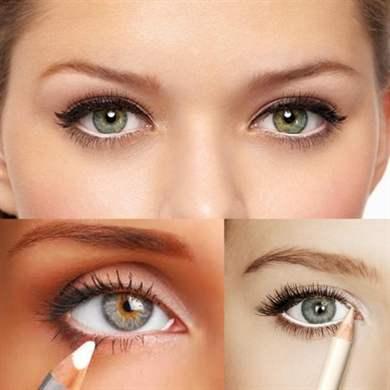 Как сделать глаза объемнее