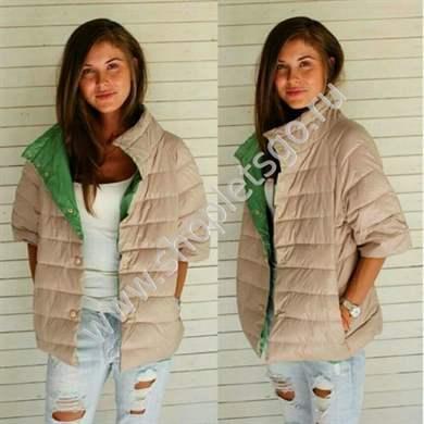 Фото модных курток с коротким рукавом