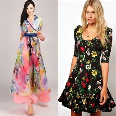 Из какого материала выбрать платье