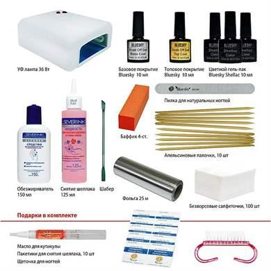 Как покрывать ногти шеллаком в домашних условиях  422