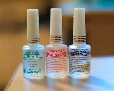 Лак для ногтей лечебный умная эмаль