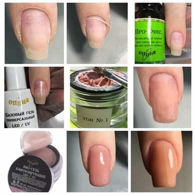 Что нужно для покрытия ногтей гель лаком в домашних условиях