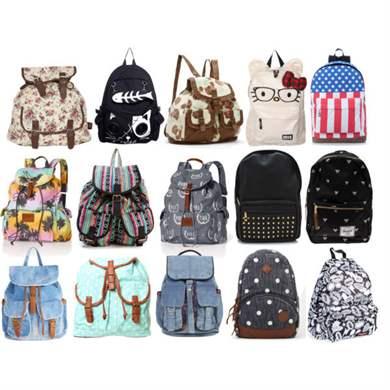 Молодежные женские рюкзаки детские чемоданы в минске