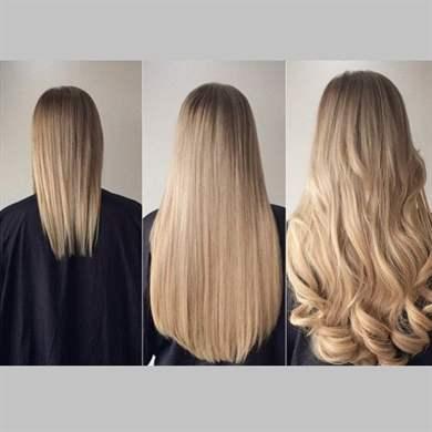 Как быстро отрастить окрашенные волосы