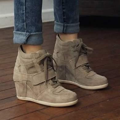 Кроссовки женские на платформе - любимая обувь модниц (фото) ea2d4c41b18