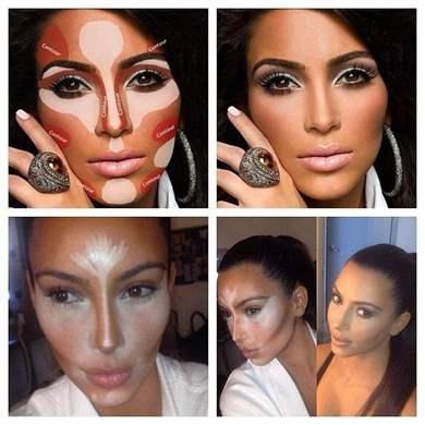 Как макияж нанести
