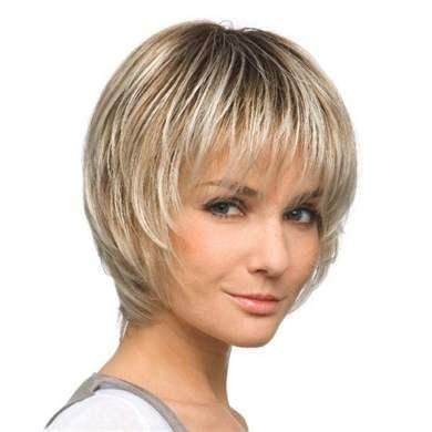 каскад женские стрижки на короткие волосы фото