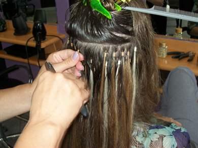 Как снять нарощенные волосы домашних условиях