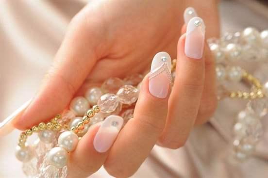 Свадебный ногтевой дизайн
