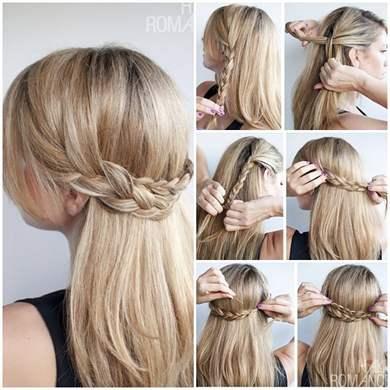 Красивые простые косы своими руками