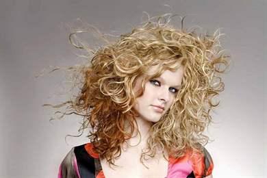 Мелирование на химию волос