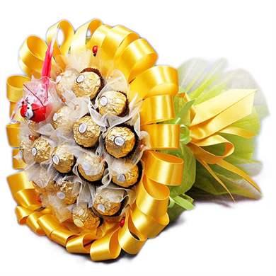 Необычные букеты своими руками из конфет 190