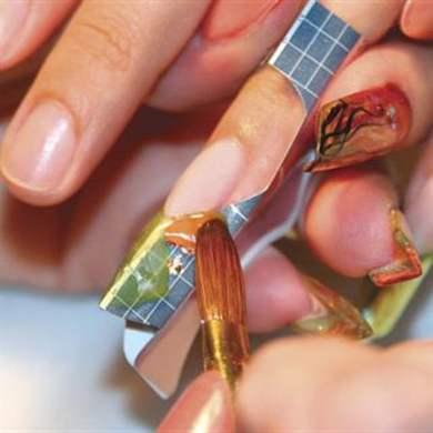 Наращивание ногтей гелем как делать