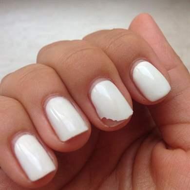 Почему гель-лак плохо держится на ногтях