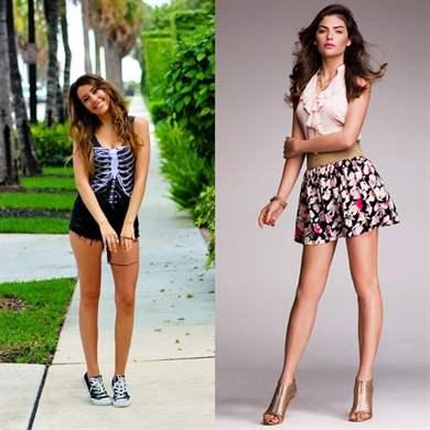 В подборках для отдыха стилисты предпочли практичный кэжуал в сочетании  грубых тканей с чисто женскими моделями одежды. Так что если у девушки в  шкафу ... df448e0bfe6