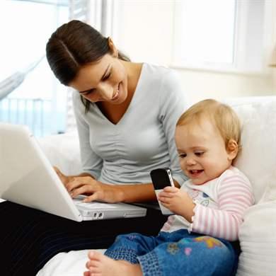 Как заработать денег в декрете на дому