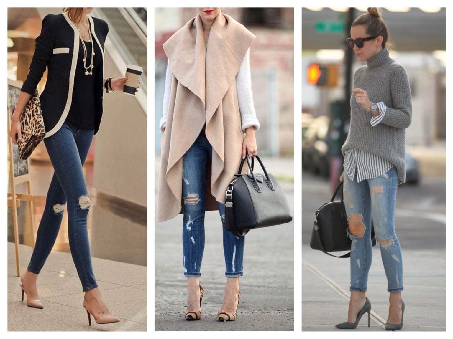 Як носити короткі джинси  поради та рекомендації - Health Club dbefb91541571
