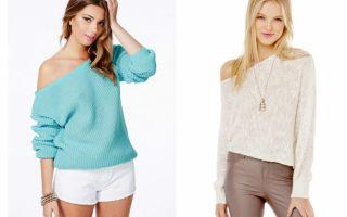 Как носить блузку на одно плечо: фото примеры, с чем сочетать и комбинировать