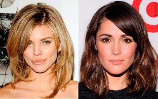 Какие причёски подходят длинному лицу: фото примеры, лучшие образы