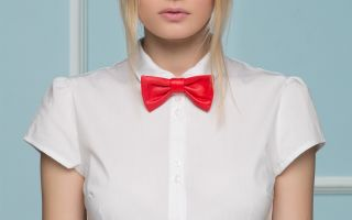 Как носить бабочку на рубашке: обзор модных образов