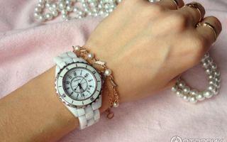 Часы наручные женские белые – как элемент стиля
