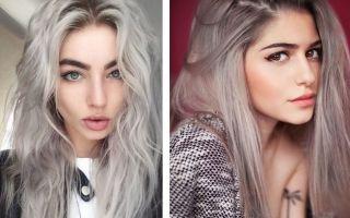 Пепельный цвет волос: фото примеры, кому подходит, как сделать
