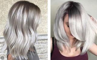 Как получить пепельный цвет волос: фото примеры