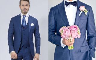 Какой галстук подойдет к синему костюму: советы модных стилистов