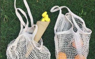 Как носить сумку-сетку в этом сезоне: фото модных луков и образов