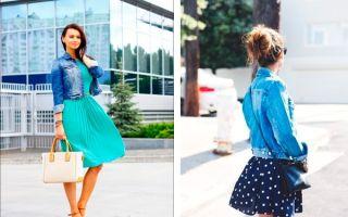 С чем носить джинсовый пиджак: варианты стильных образов