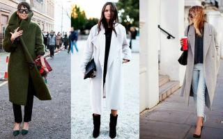 Какие пальто будут в моде весной и осенью 2019?