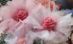 Цветы из фатина своими руками, мастер класс с пошаговой инструкцией