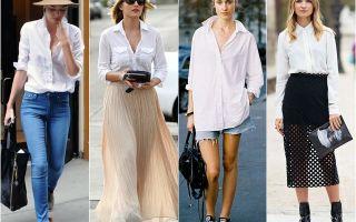 Как носить рубашку оверсайз: фото модных образов и луков, с чем сочетать