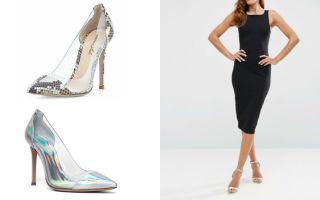 Серебристые туфли: фото модных новинок, с чем носить и как сочетать с одеждой и аксессуарами